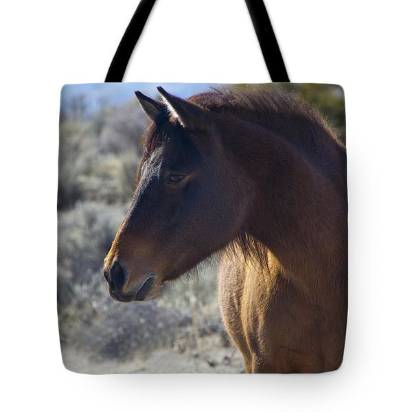 Wild Mustang Mare Tote Bag