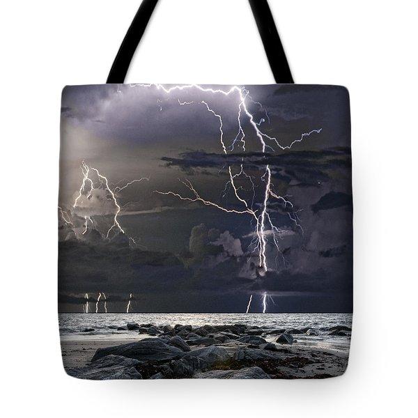 Wild Night Tote Bag