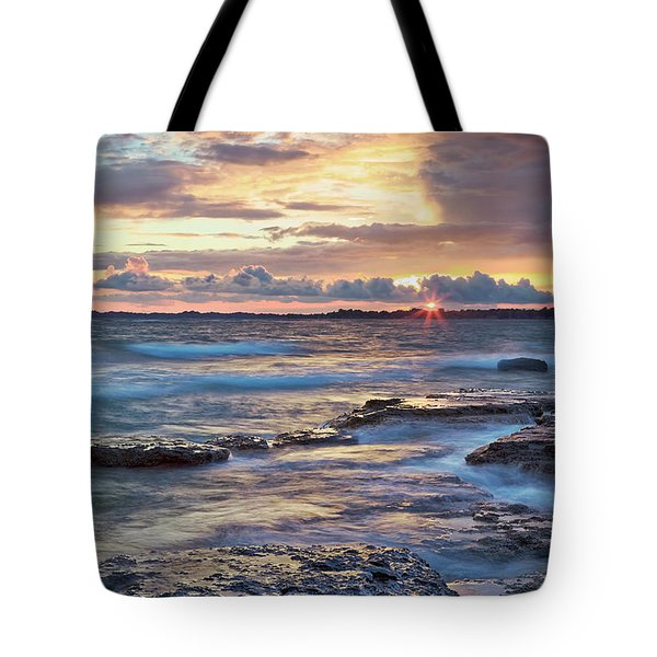 Wild Night On Erie Tote Bag