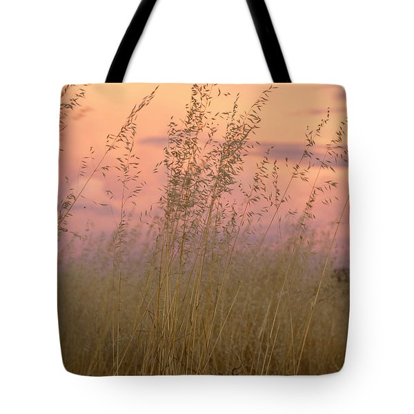 Tote Bag featuring the photograph Wild Oats by Linda Lees
