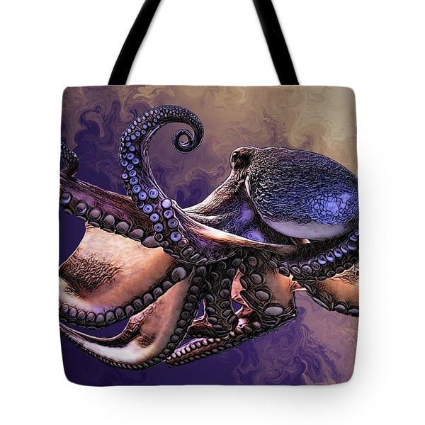 Wild Octopus Tote Bag