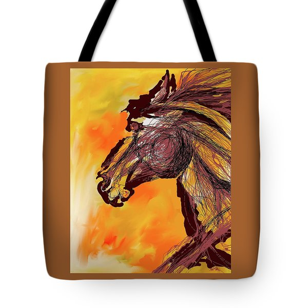 Wild One Tote Bag by Mary Armstrong
