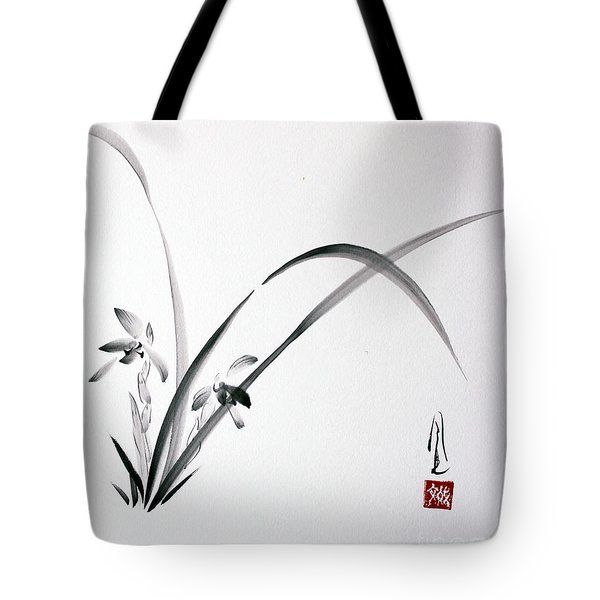 Wild Orchid Tote Bag