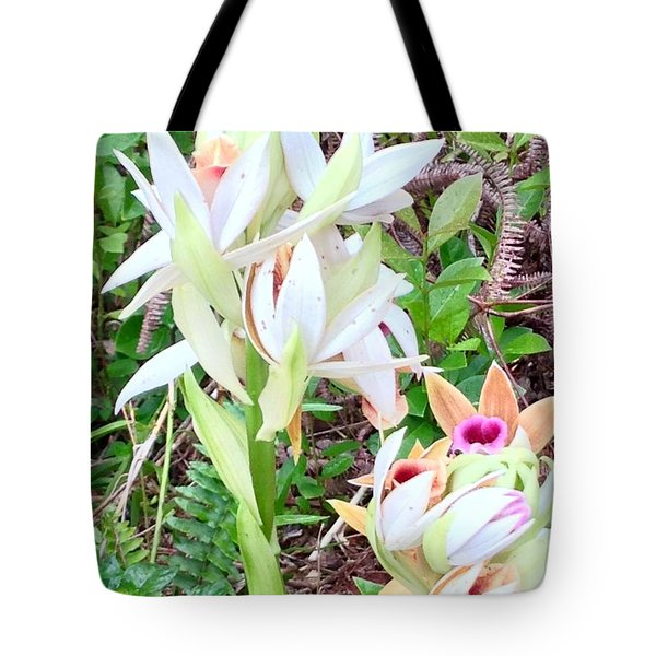 Wild Orchids In Pastel 2 Tote Bag