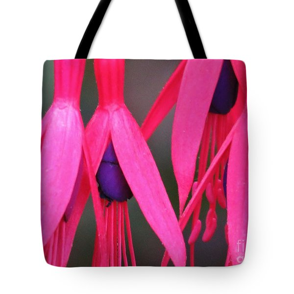 Wild Oregon Fuchsia  Tote Bag by Michele Penner