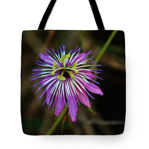 Tote Bag featuring the photograph Wild Passion Flower by Craig Wood