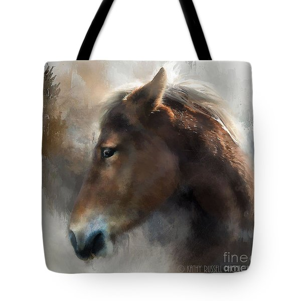 Wild Pony Tote Bag by Kathy Russell