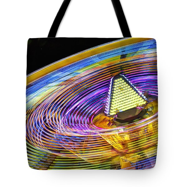 Tote Bag featuring the photograph Wild Ride by John Swartz