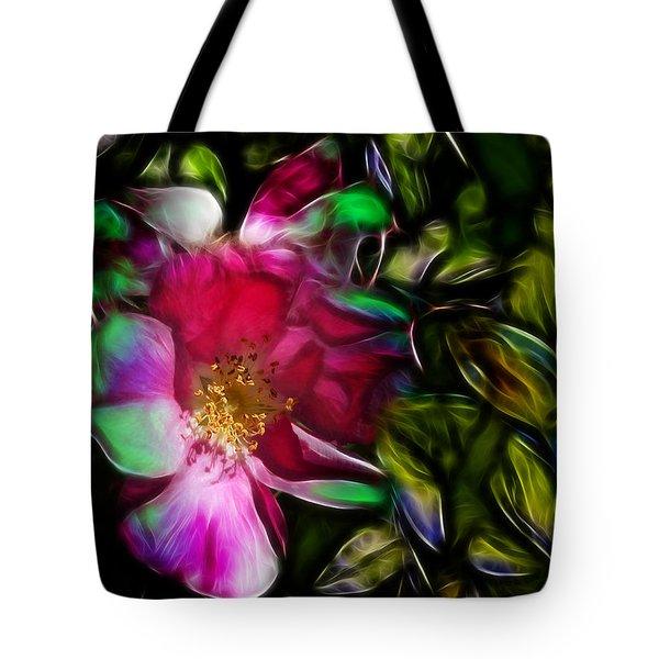 Wild Rose - Colors Tote Bag by Stuart Turnbull