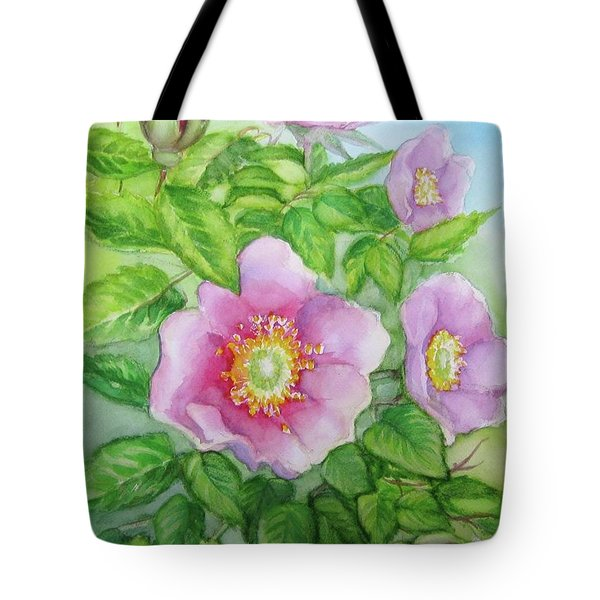 Wild Rose 3 Tote Bag