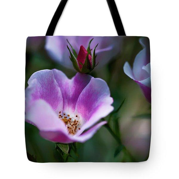 Wild Rose 7 Tote Bag