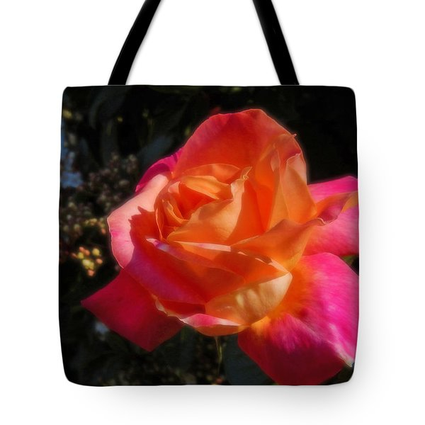 Wild Rose Tote Bag by Mark Blauhoefer