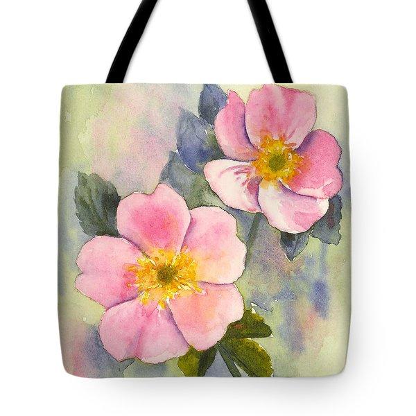 Wild Roses - Glacier Tote Bag
