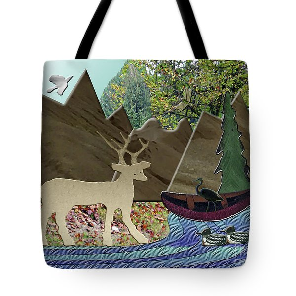 Wild Rural Animals Tote Bag
