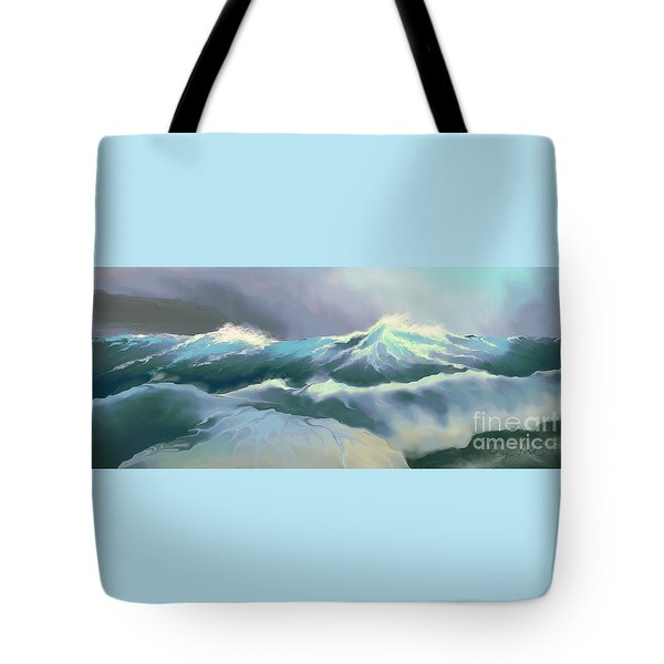 Wild Sea Tote Bag by Corey Ford