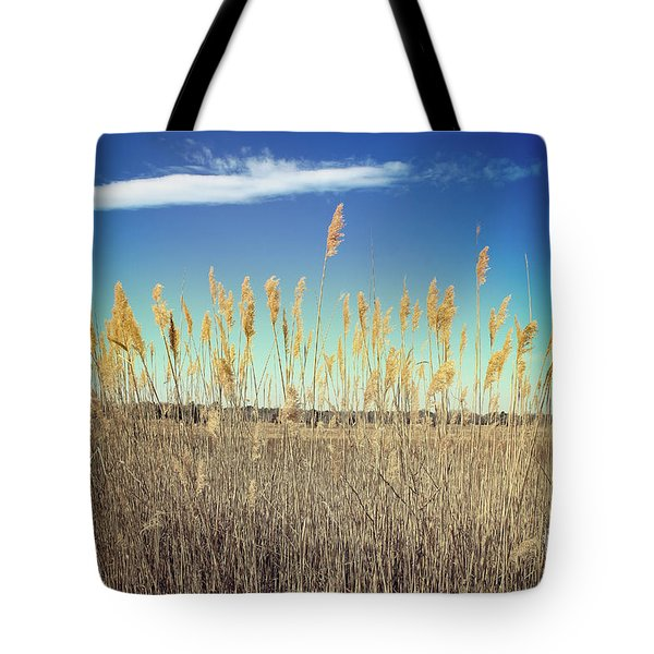 Tote Bag featuring the photograph Wild Sea Oats by Colleen Kammerer