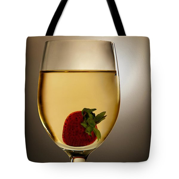 Tote Bag featuring the photograph Wild Strawberry by Joe Bonita