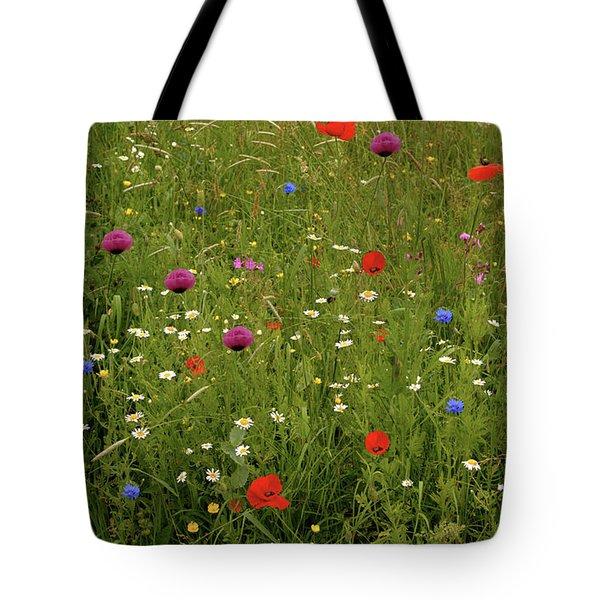 Wild Summer Meadow Tote Bag