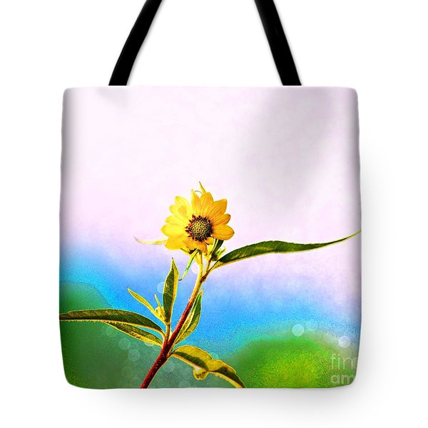 Wild Sunflower Tote Bag