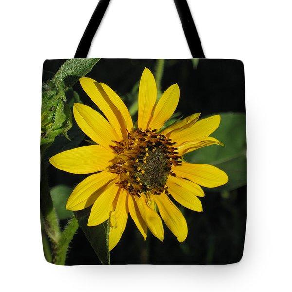 Wild Sunflower Tote Bag