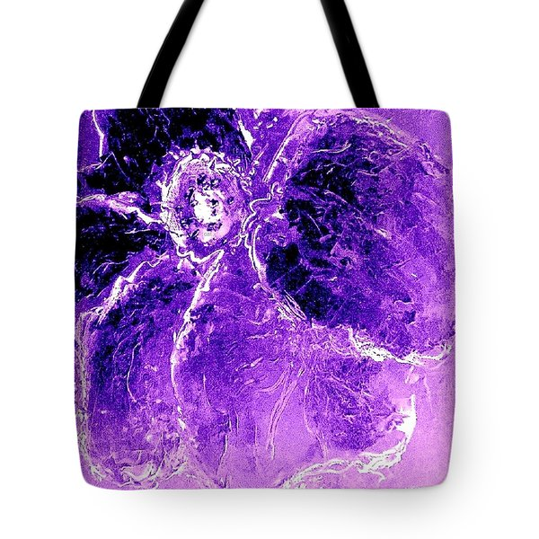 Wild Thing Purple Tote Bag