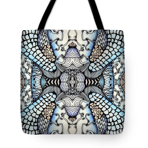 Wild Thoughts Tote Bag