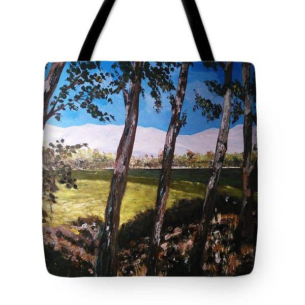 Wild Trees Tote Bag