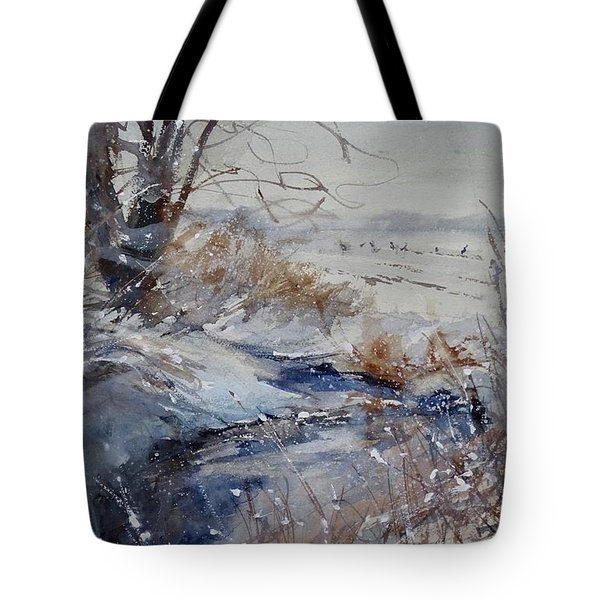Wild Turkey In The Storm Tote Bag
