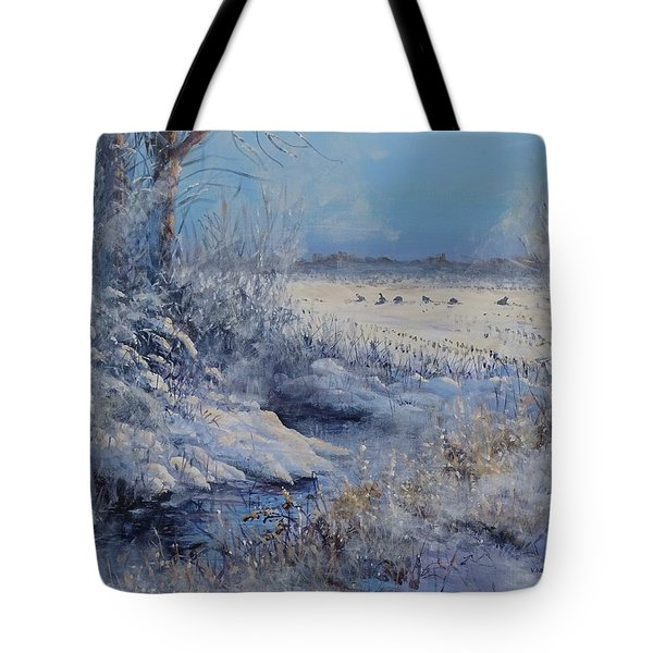 Wild Turkeys Tote Bag