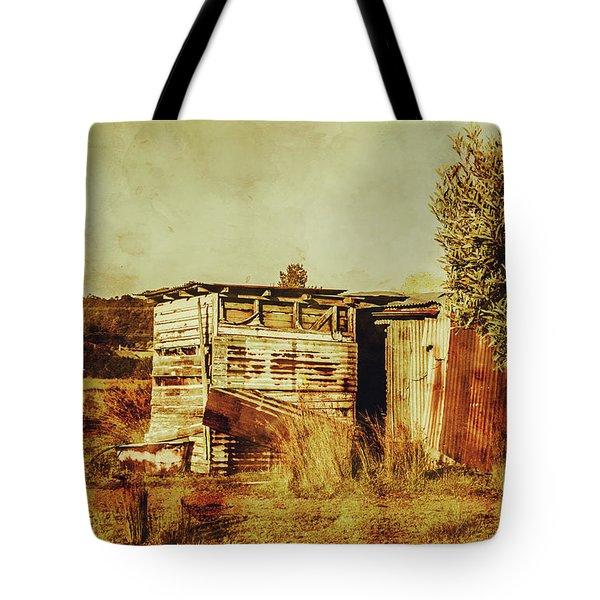 Wild West Australian Barn Tote Bag