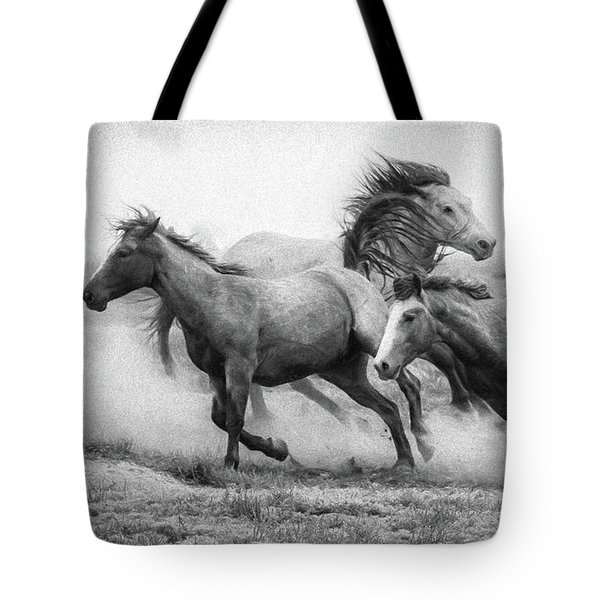 Tote Bag featuring the photograph Wild West by Kelly Marquardt