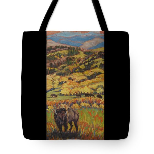 Wild West Splendor Tote Bag