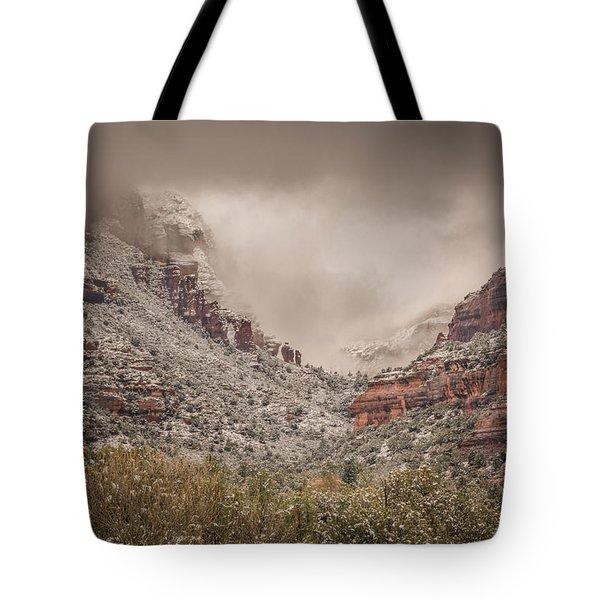 Boynton Canyon Arizona Tote Bag by Racheal Christian
