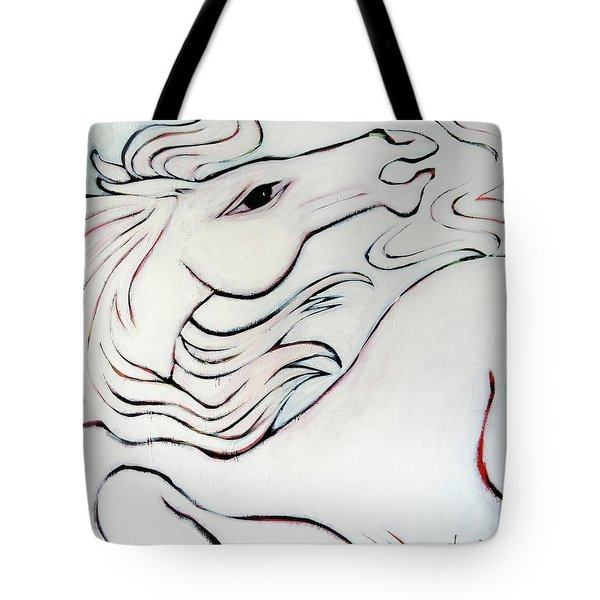 Wild White Tote Bag