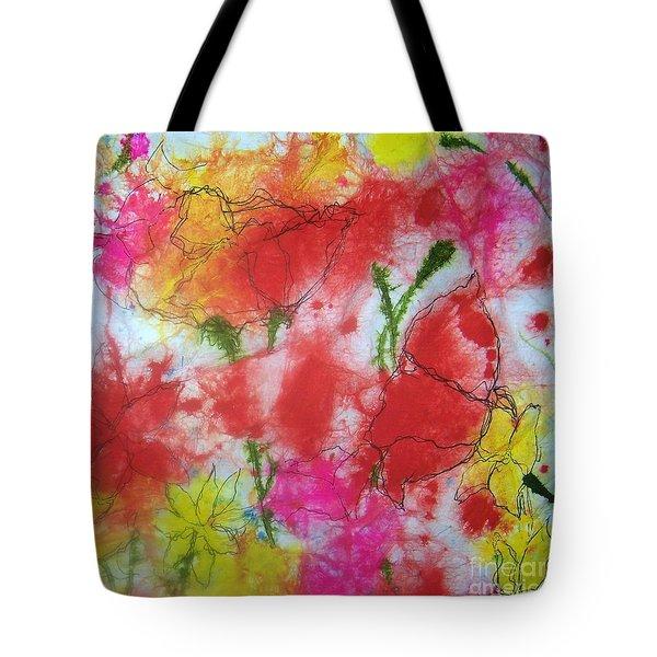 Wild, Wild Flowers Tote Bag