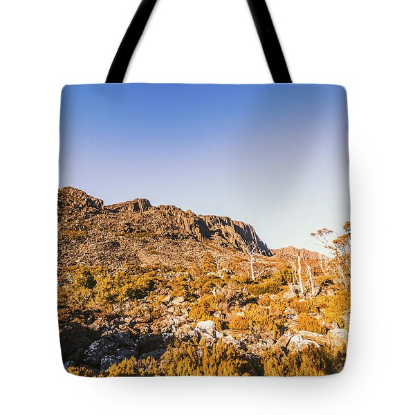 Wild Wilderness Of Stone Geology Tote Bag