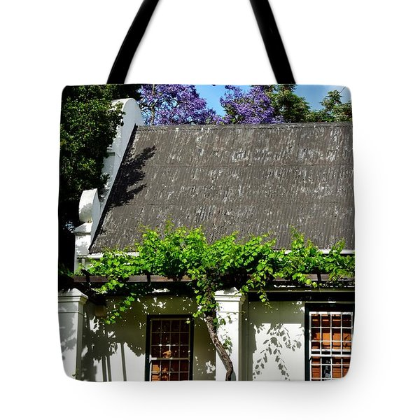 Tote Bag featuring the photograph wild Wine by Werner Lehmann