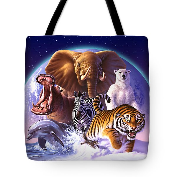 Wild World Tote Bag by Jerry LoFaro