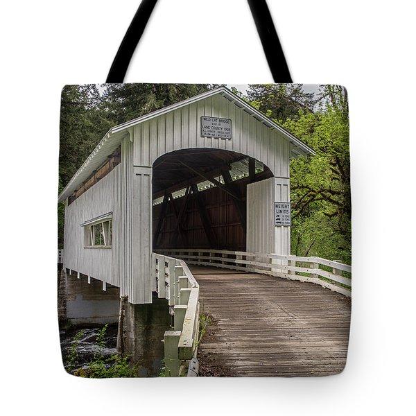 Wildcat Creek Bridge No. 1 Tote Bag