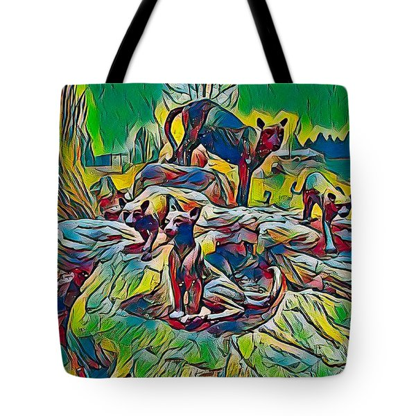 Wildcats Tote Bag