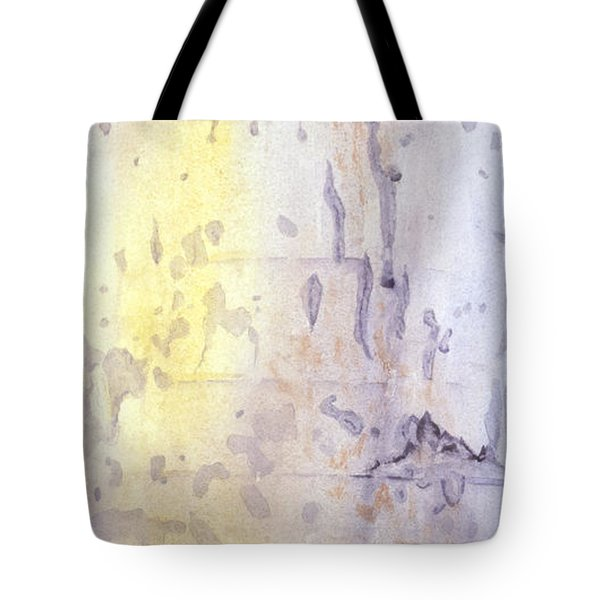 Wilderness Calligraphy - Aspen Tree Tote Bag