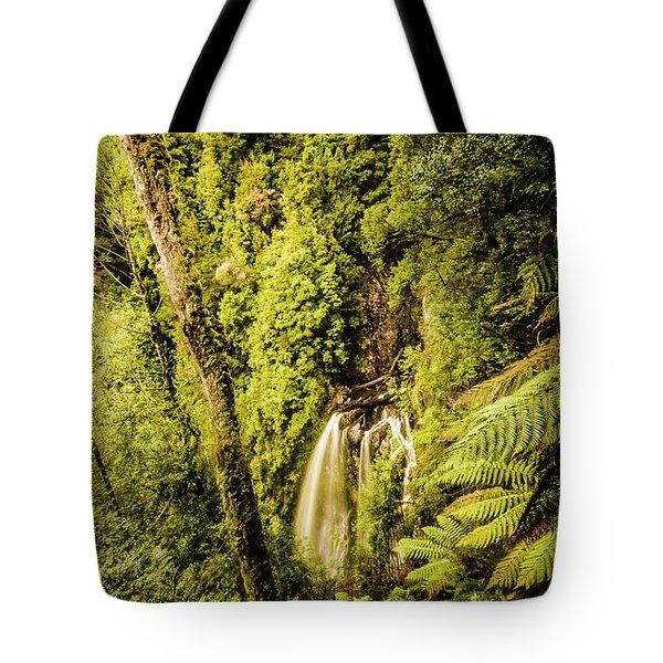 Wilderness Falls Tote Bag