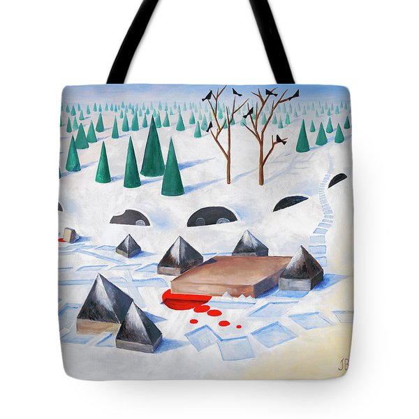 Wilderness Perception Tote Bag