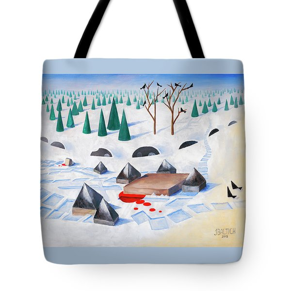 Wilderness Perception Tote Bag