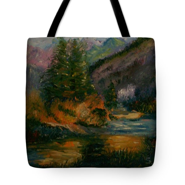 Wilderness Stream Tote Bag