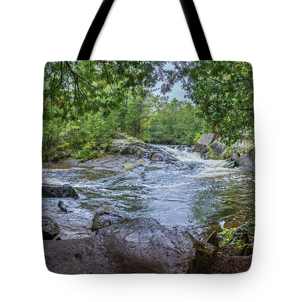 Tote Bag featuring the photograph Wilderness Waterway by Bill Pevlor