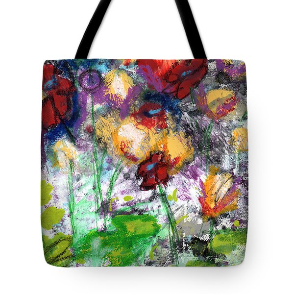 Wildest Flowers- Art By Linda Woods Tote Bag