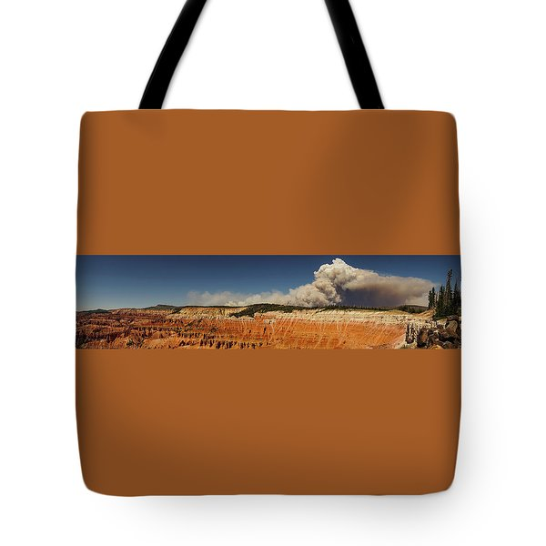 Wildfire Cedar Breaks National Monument Utah Tote Bag