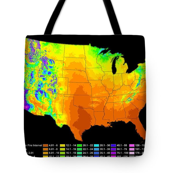 Wildfire Frequency Tote Bag