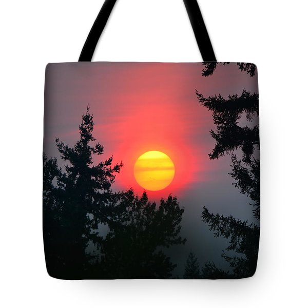 Wildfire Sunset Tote Bag